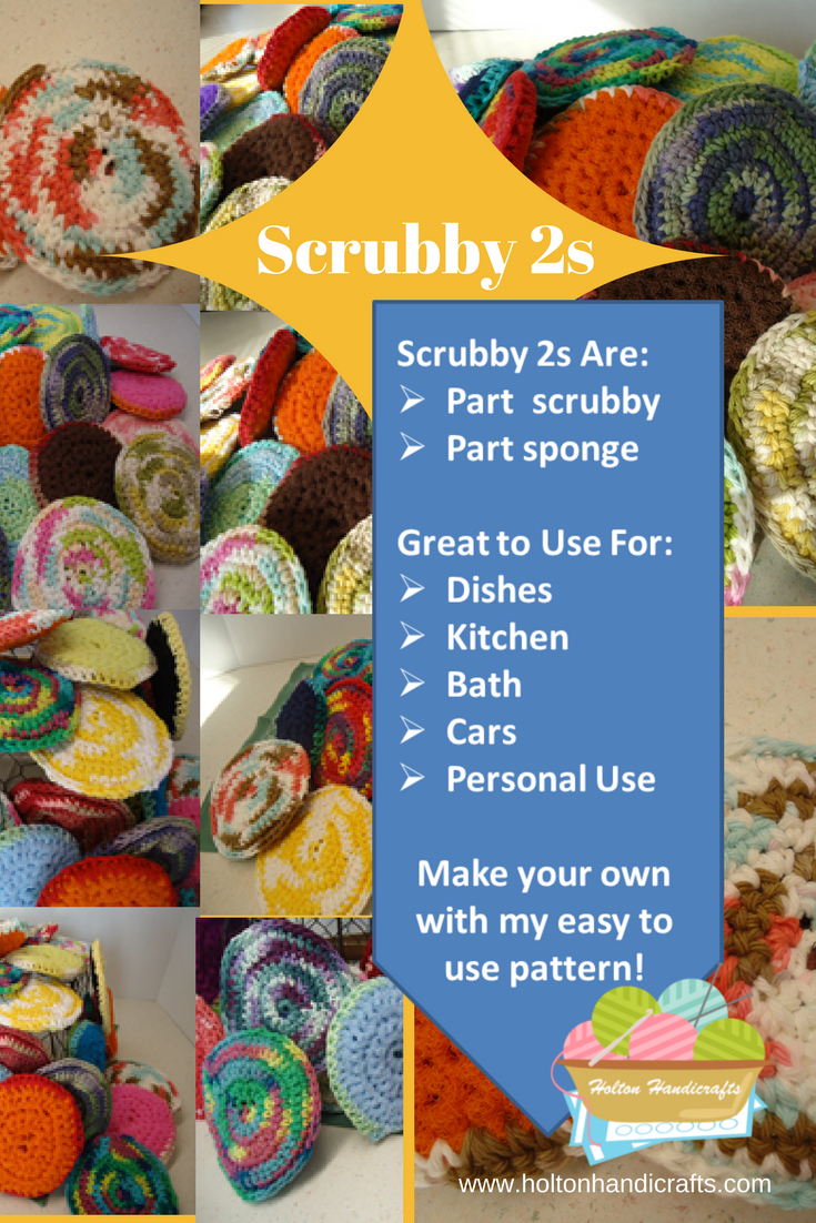 Scrubby 2s | How to Use Them | How to Make Your Own